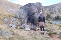 Bivouac au Lac de Bastan